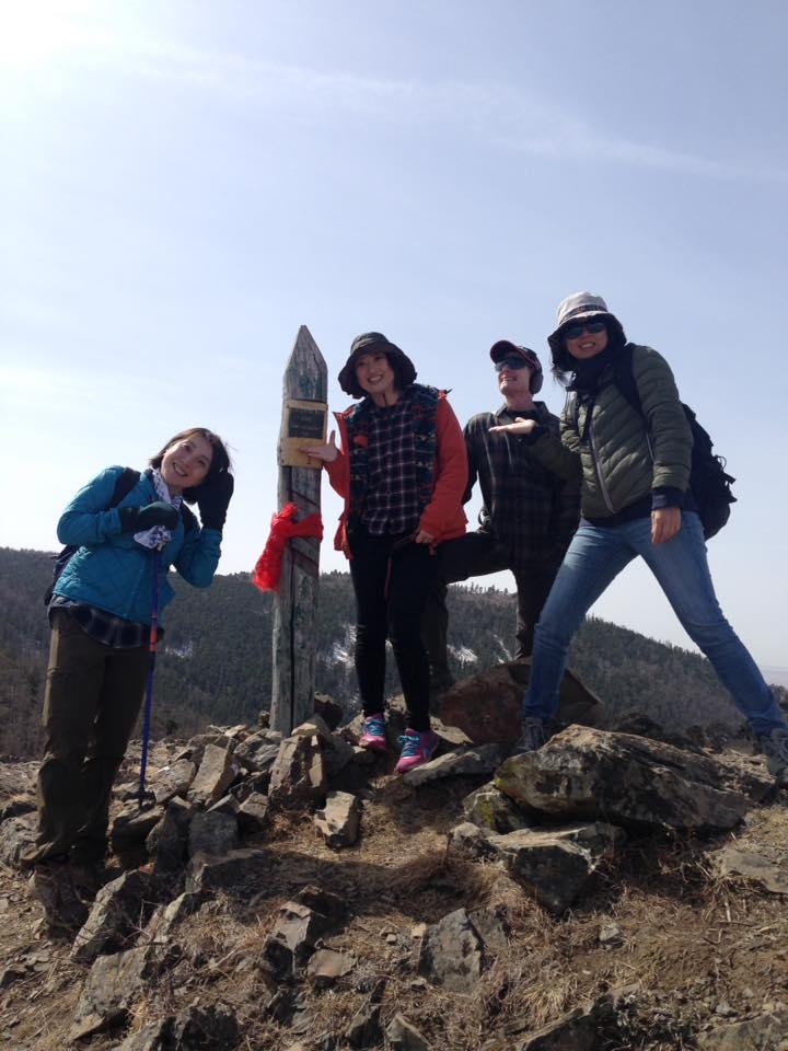 ウランバートルの山をハイキング♪
