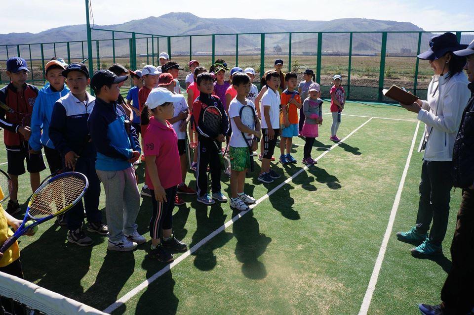 テニス大会 in Ulaanbaatar!