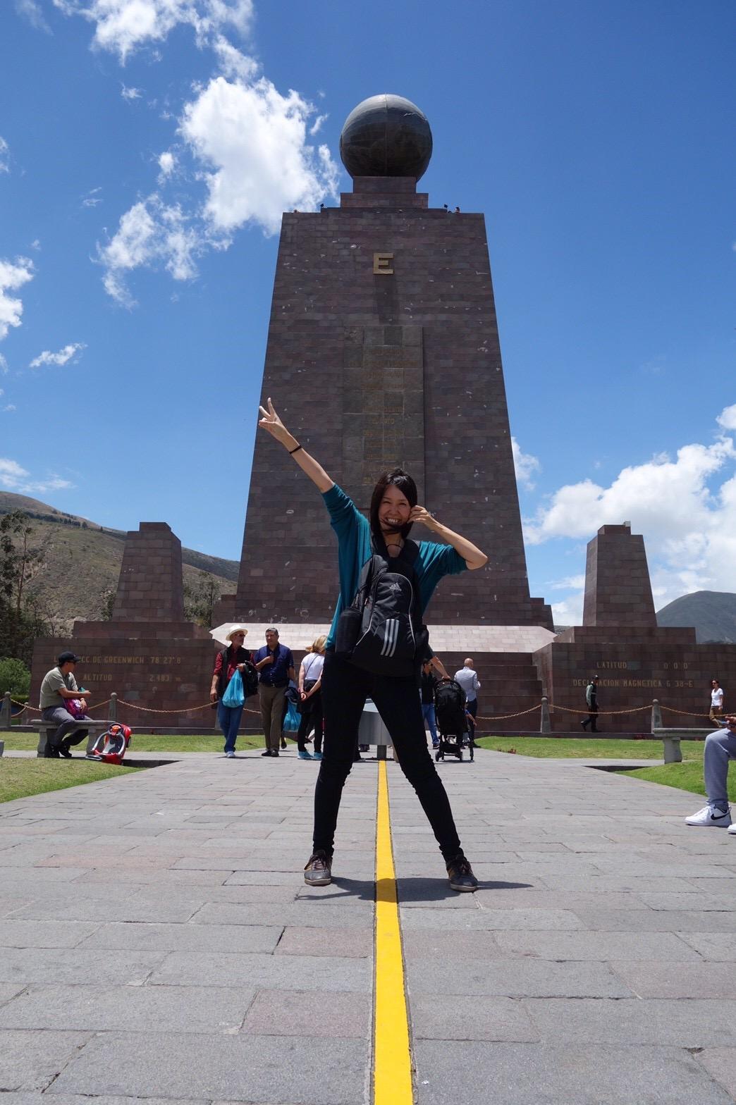 エクアドルの首都キトから、はじめまして!
