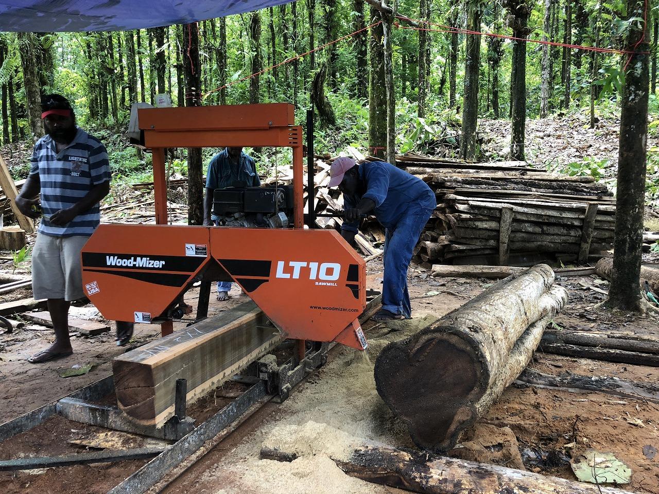 【活動】自伐林家による製材加工プロジェクト②