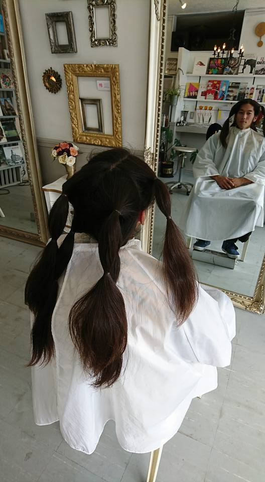 その長い髪、どうしてますか?