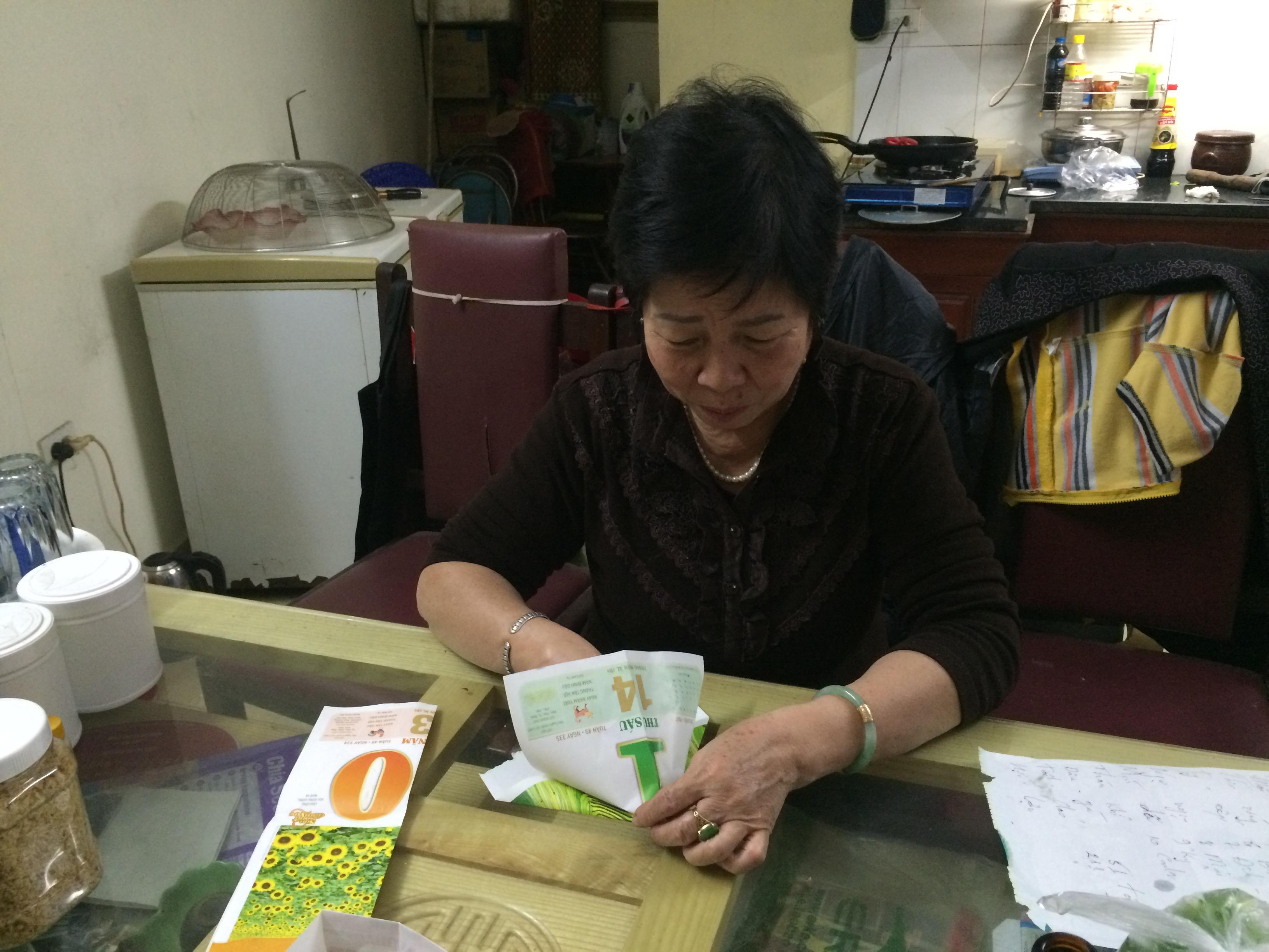 母の知恵をベトナムの母に伝授