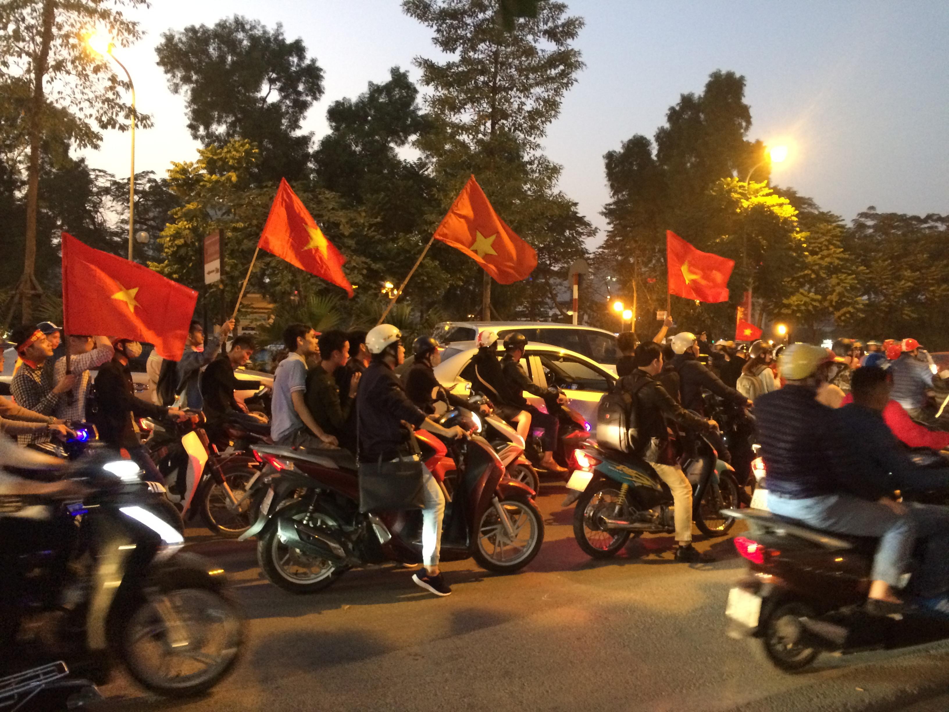 ベトナム人の若きパワー炸裂!
