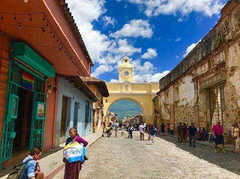 私が住んでいる街、アンティグア市