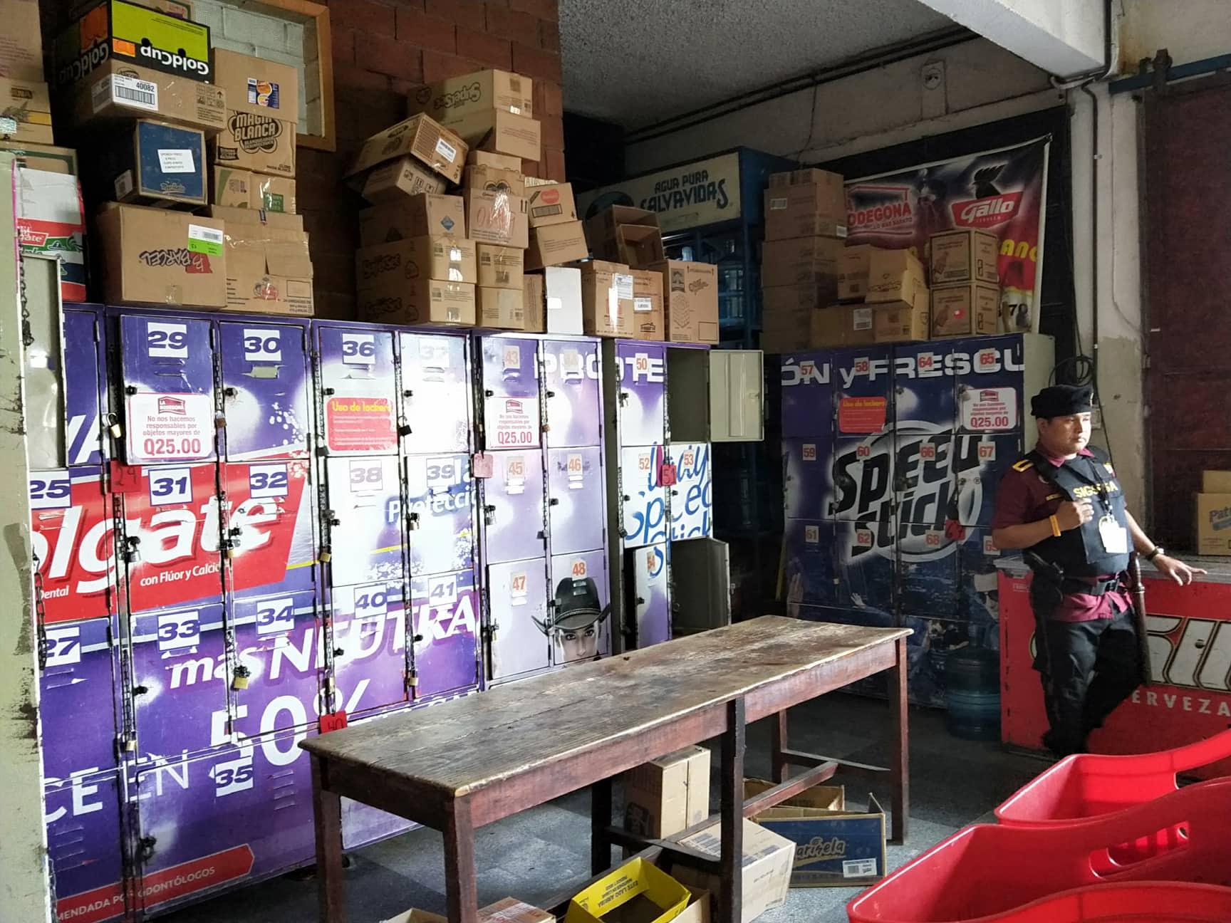 グアテマラのスーパーマーケット