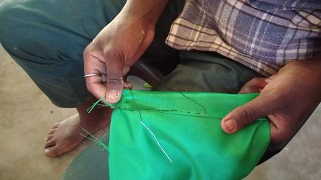 孤児院で裁縫教室をお手伝いしてきました