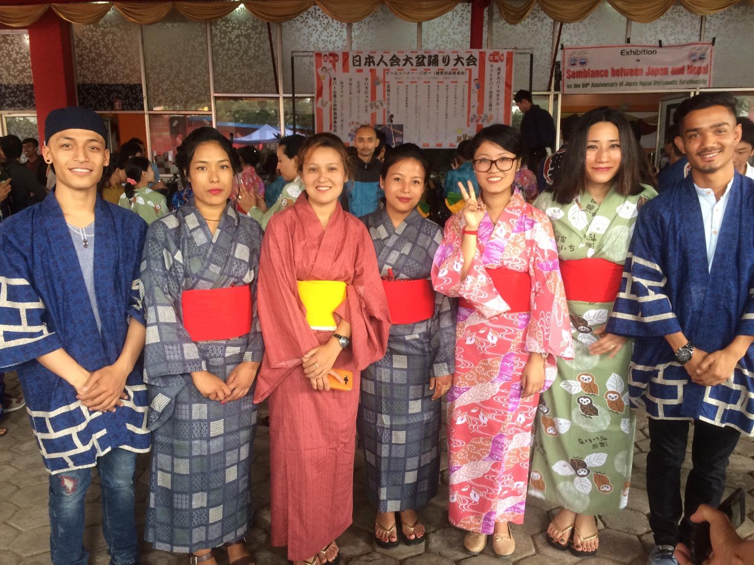 盆踊り大会~in Nepal
