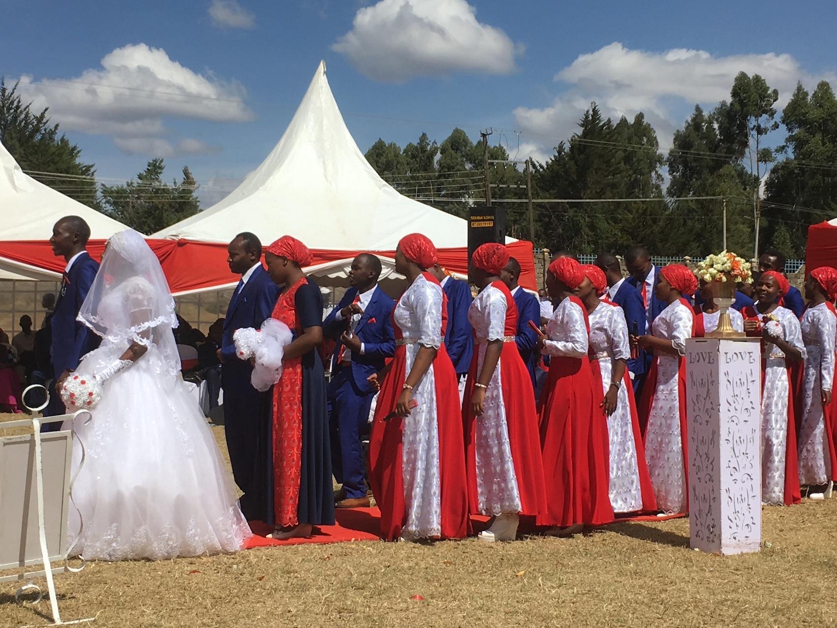 ケニアの結婚式