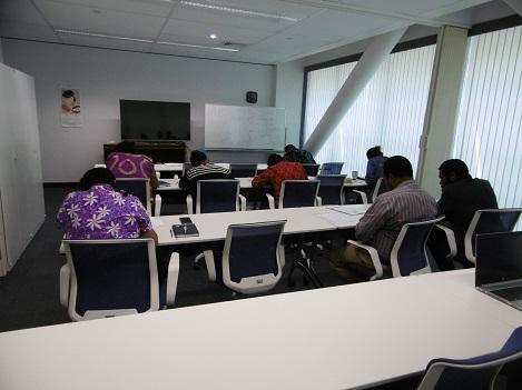 JICA現地スタッフ日本語授業