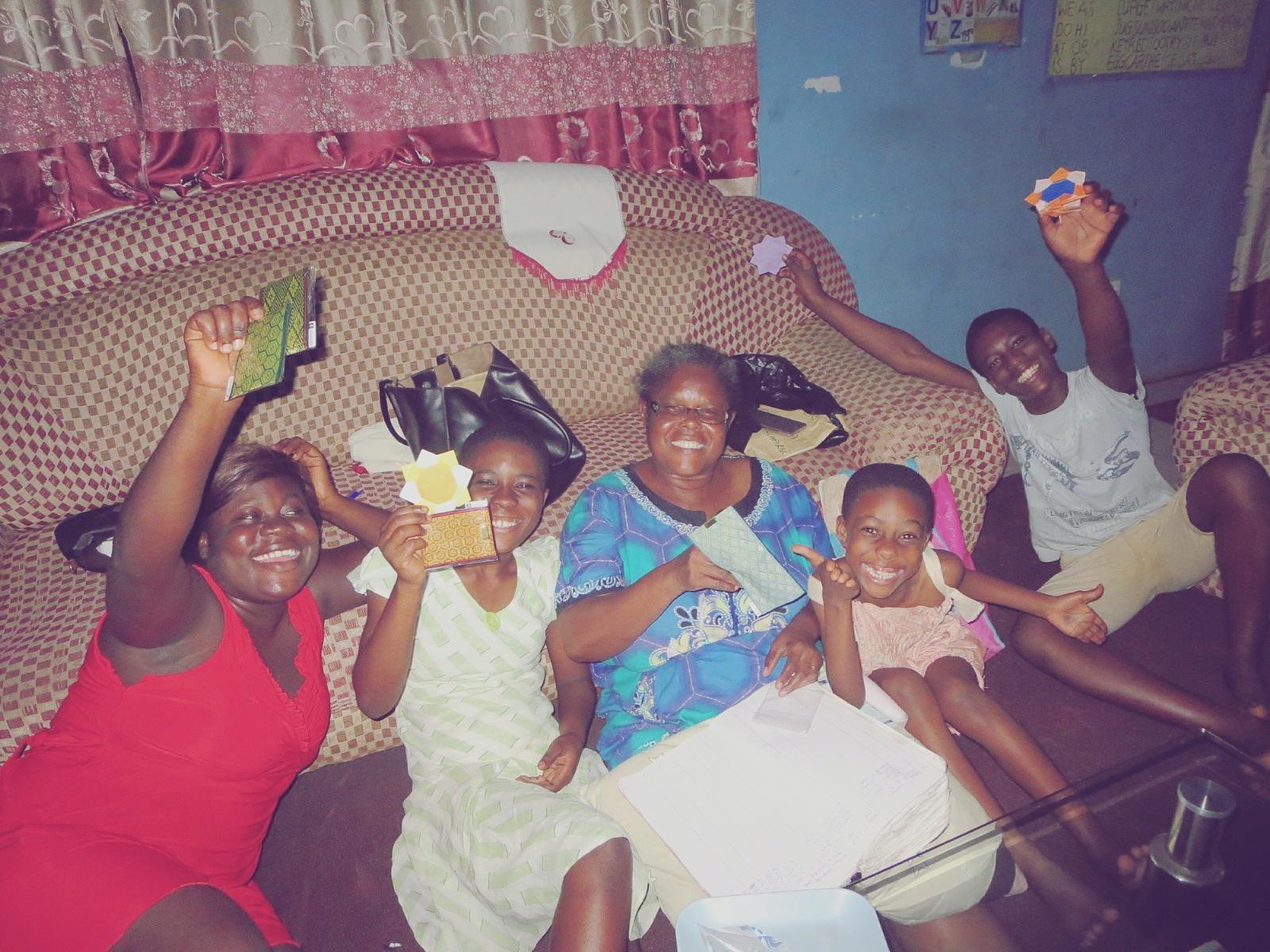 ガーナの家族のはなし。
