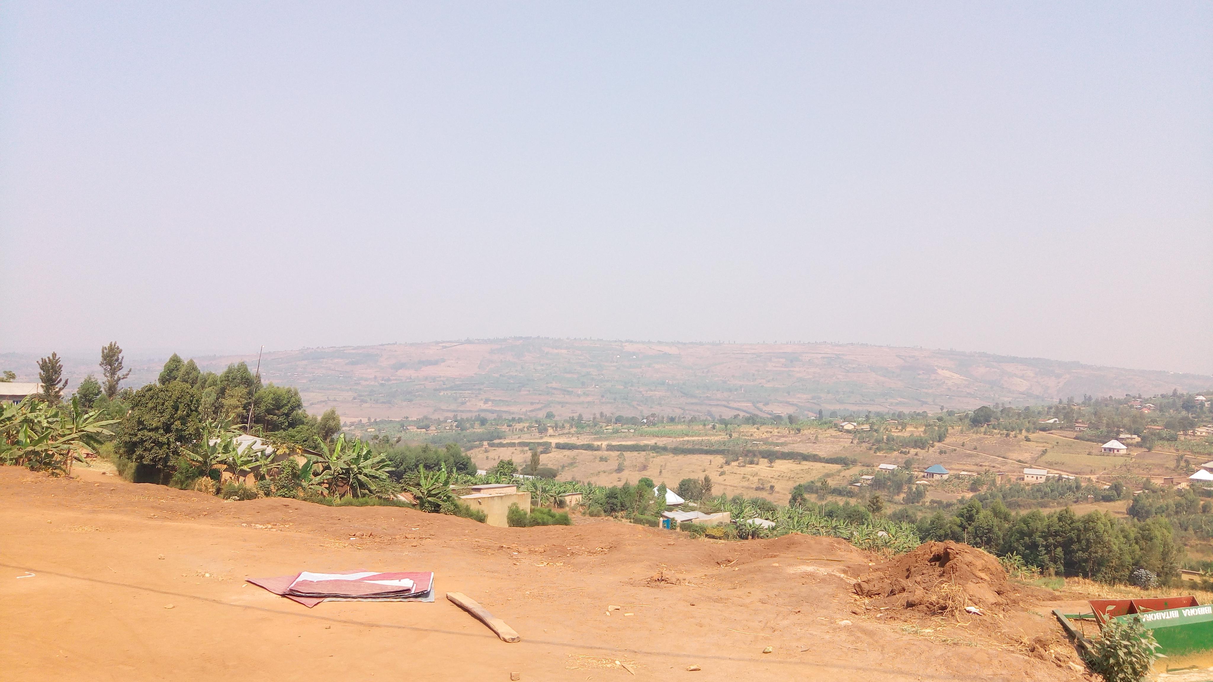 ルワンダの気候と水事情について