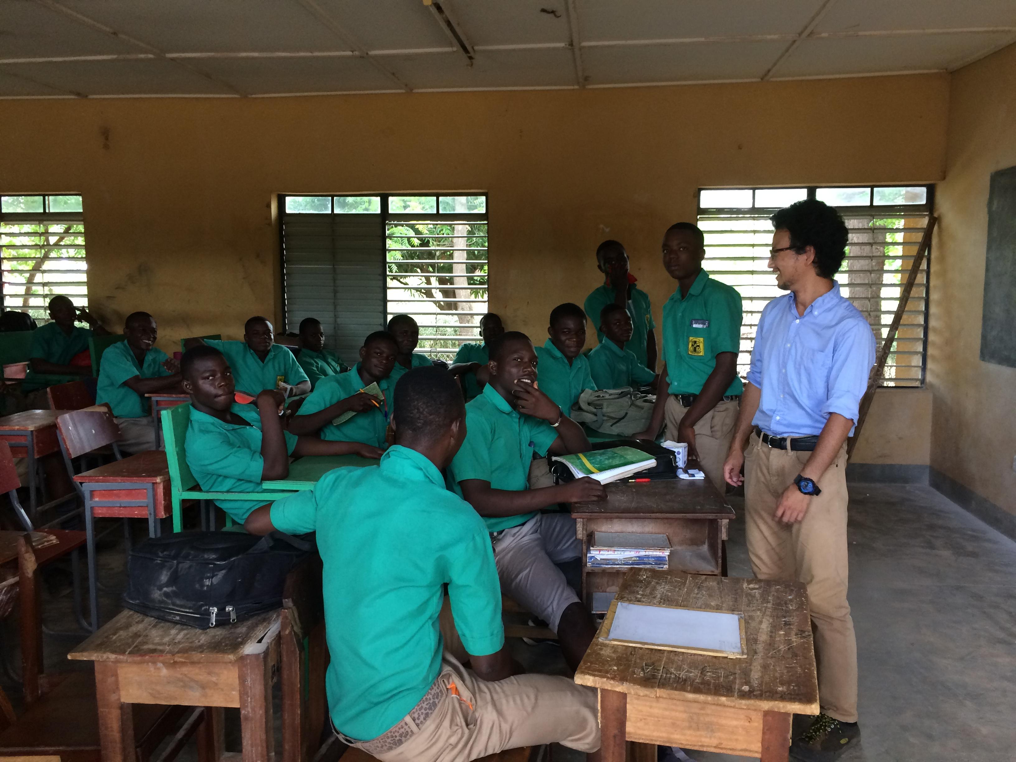ガーナでの活動をこれから紹介していきます!