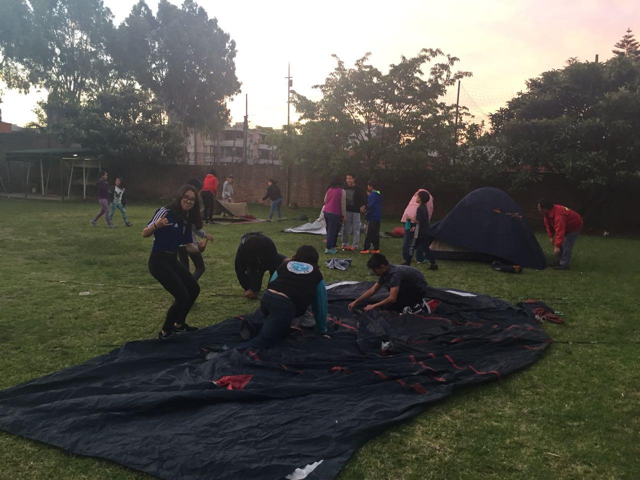 夏のキャンプ@日本語学校