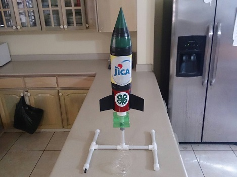 飛べ、ジャマイカ号! ペットボトルロケットと環・・・