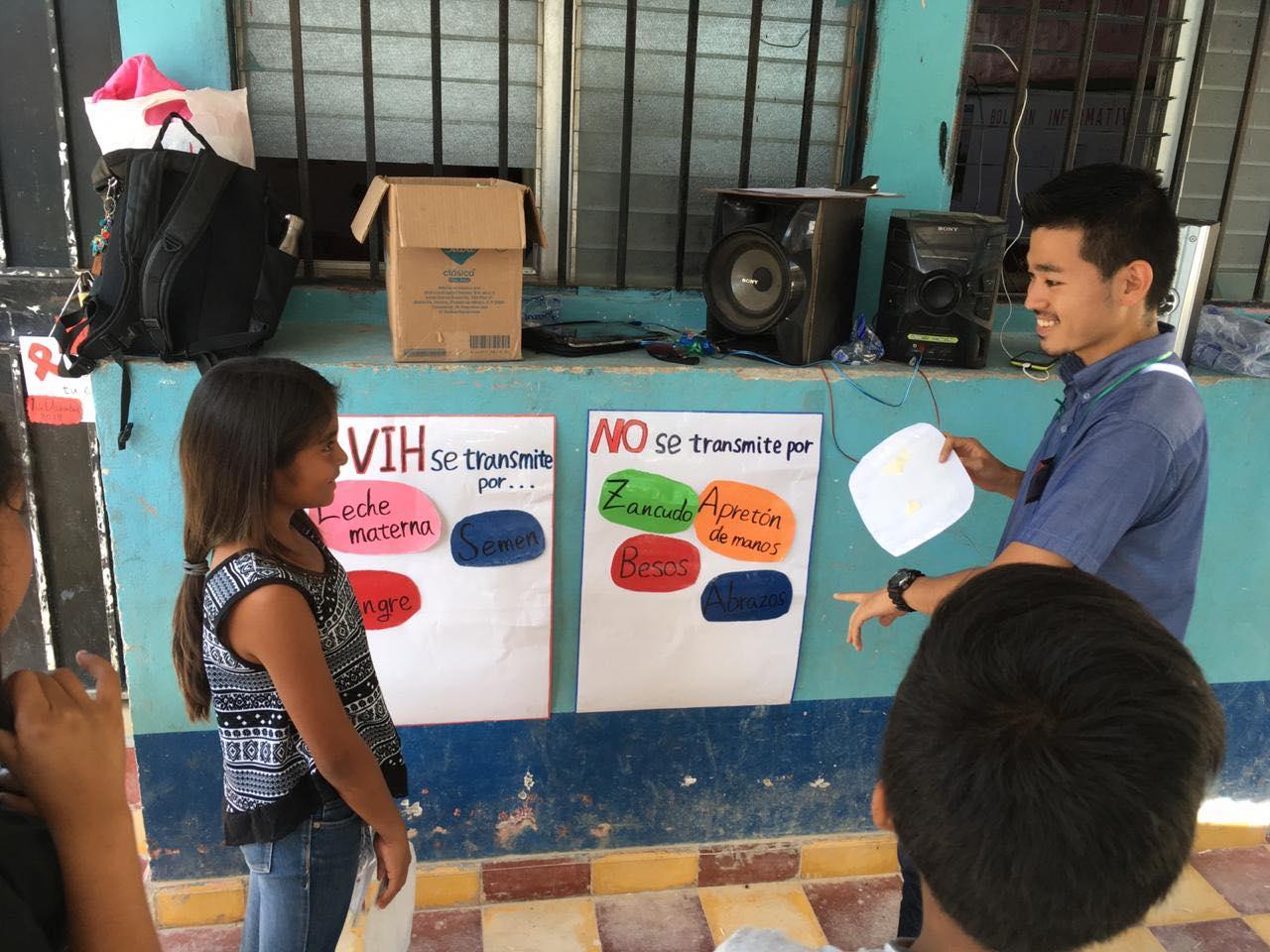 農村地域での学校保健イベント