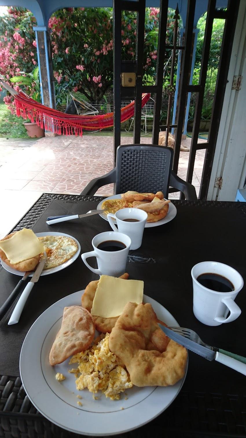 パナマの朝食