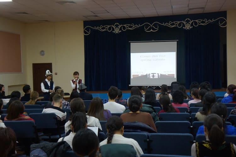 英語教育隊員によるセミナー