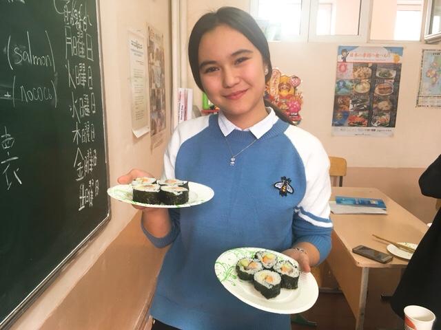 巻き寿司体験
