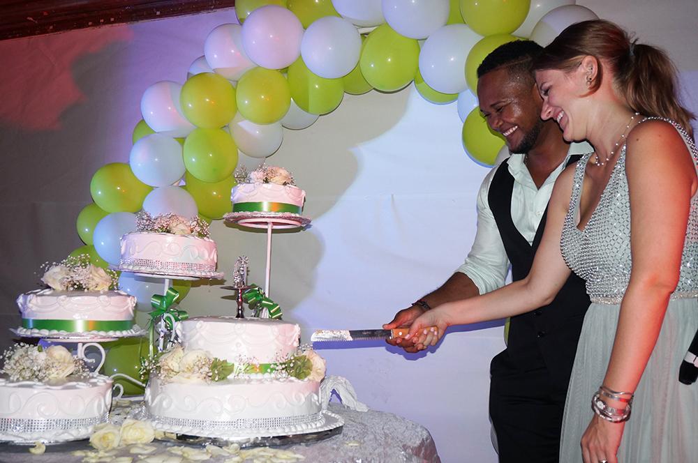 ドミニカ共和国的結婚式