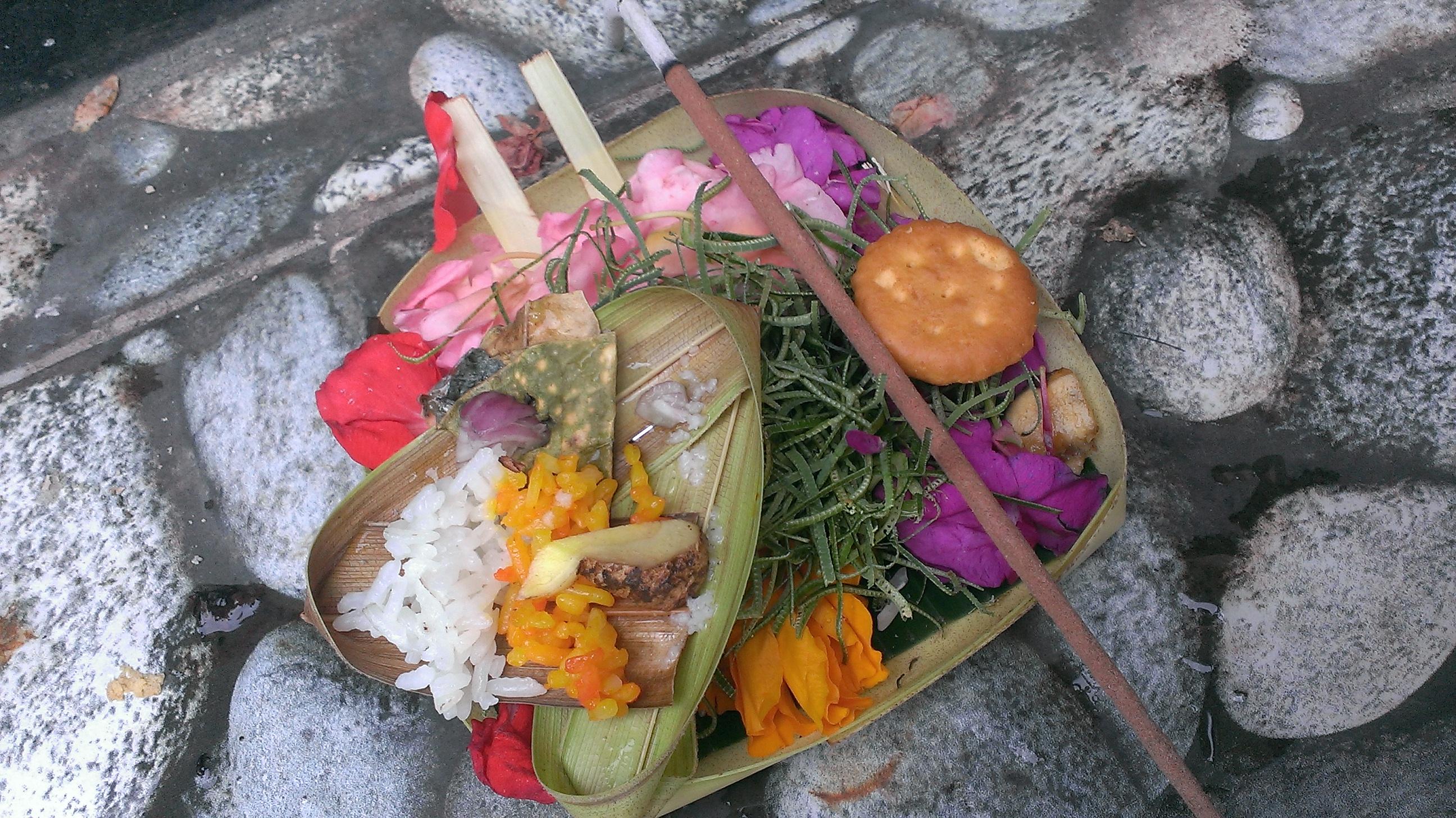 ロンボク島で感じるバリ文化。